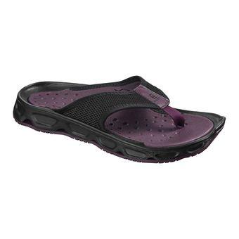 Salomon RX BREAK 4.0 - Recovery Flip Flops - Women's - pur/bk/bk