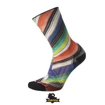 Smartwool PHD OUTDOOR LIGHT PRINT CREW - Calcetines mujer dark blue