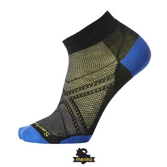 Smartwool PHD RUN ULTRA LIGHT LOW CUT - Calcetines black