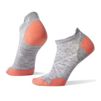 Smartwool PHD RUN ULTRA LIGHT MICRO - Socks - Women's - light gray