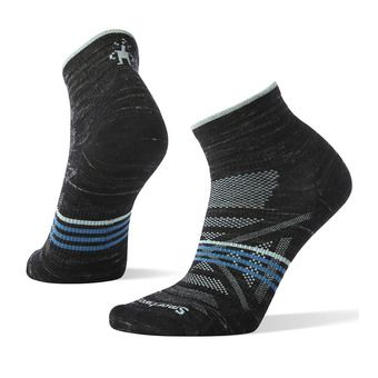 Smartwool PHD OUTDOOR ULTRA LIGHT MINI - Socks - Women's - black heather
