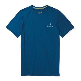 Smartwool MERINO SPORT 150 LOGO - T-Shirt - Men's - alpine blue