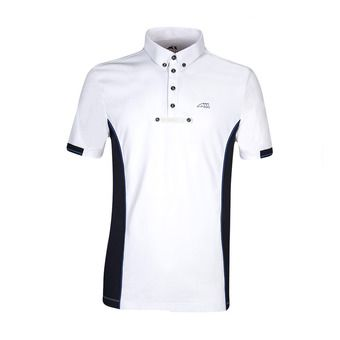 Equiline GYM - Polo concours Homme white