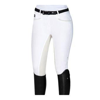 Equiline PENELOPE - Pantalon fond de peau Femme white