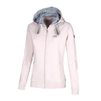 Sweat zippé à capuche femme KAIRA pink