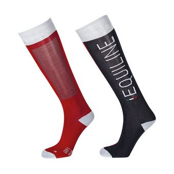 Equiline IBERT - Chaussettes fire red