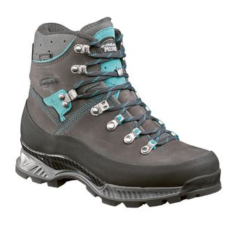 Meindl ISLAND MFS ROCK GTX - Hiking Shoes - Women's - anthracite/turquoise