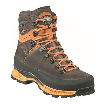 Meindl ISLAND MFS ROCK GTX - Chaussures randonnée Homme orange/brun