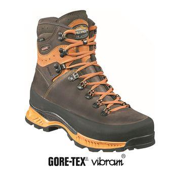 Meindl ISLAND MFS ROCK GTX - Zapatillas de senderismo hombre orange/brun