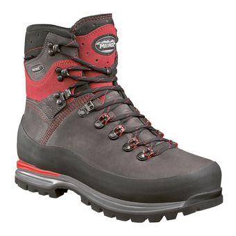 Meindl ISLAND MFS ALPIN GTX - Chaussures alpinisme Homme anthracite/rouge