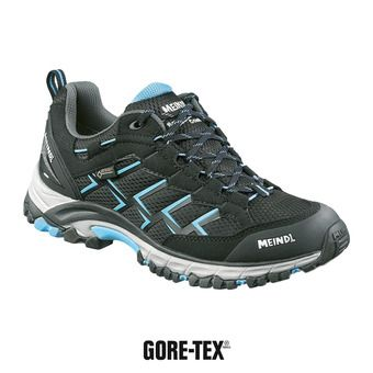 Meindl CARIBE GTX - Chaussures randonnée Femme noir/azur