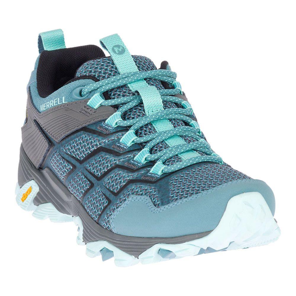 fb93d20d53 Chaussures de randonnée femme MOAB FST 2 GTX blue smoke - Private ...