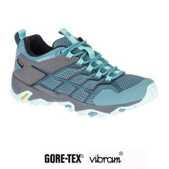 Merrell MOAB FST 2 GTX - Chaussures randonnée Femme blue smoke