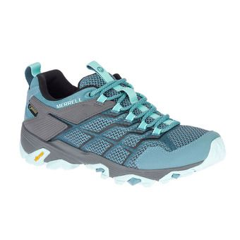 Merrell MOAB FST 2 GTX - Hiking Shoes - Women's - blue smoke