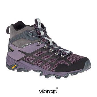 Zapatillas de senderismo mujer MOAB FST 2 MID GTX granite shark