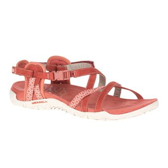 Merrell TERRAN LATTICE II - Sandals - Women's - redwood
