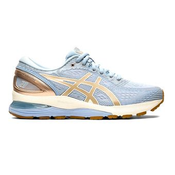 Asics GEL-NIMBUS 21 - Chaussures running Femme mist/frosted almond
