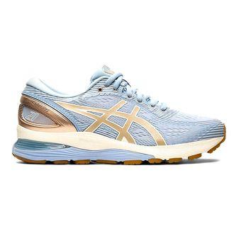 Chaussures de running femme GEL-NIMBUS 21 mist/frosted almond