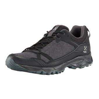 Haglofs TRAIL FUSE - Zapatillas de trail hombre true black/magnetite