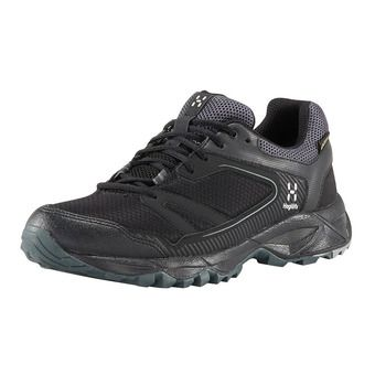 Haglofs TRAIL FUSE GTX - Hiking Shoes - Women's - true black