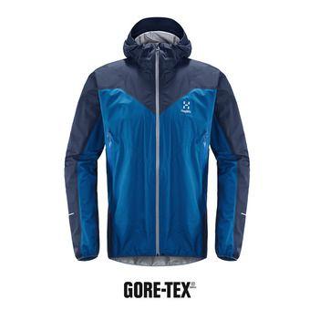 Veste à capuche homme L.I.M COMP GTX® storm blue/tarn blue