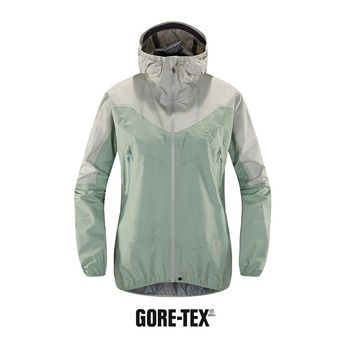Veste à capuche femme L.I.M COMP GTX® blossom green/haze
