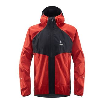 Haglofs LIM PROOF MULTI - Chaqueta hombre slate/pop red