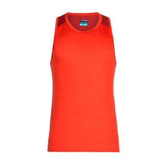 Icebreaker AMPLIFY - Tank Top - Men's - chili red/sienna