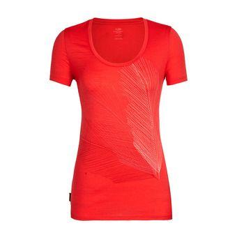 Icebreaker SCOOP PLUME - T-Shirt - Women's - cove