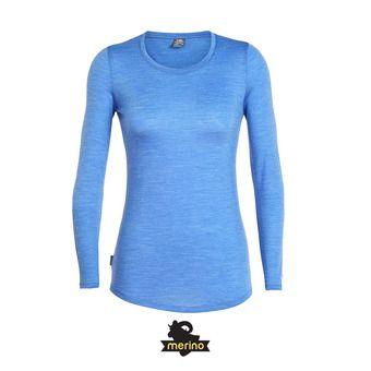 Tee-shirt ML femme SPHERE LOW CREWE cove hthr
