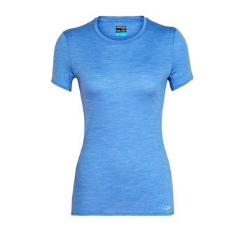 Icebreaker AMPLIFY LOW CREWE - T-shirt Donna cove hthr
