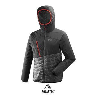 Veste hybride à capuche homme ELEVATION AIRLOFT tarmac/noir