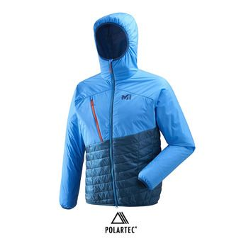 Veste à capuche homme ELEVATION AIRLOFT poseidon/electric blue