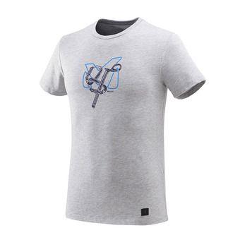 Camiseta hombre GRANITOLA heather grey