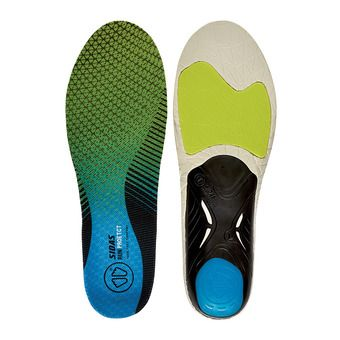 Sidas RUN 3D PROTECT - Semelles black/blue/lime