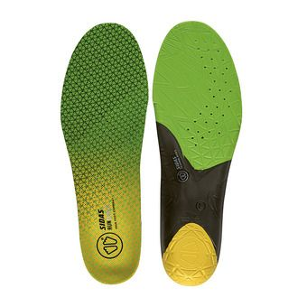 Semelles RUN 3D SENSE green/black/yellow
