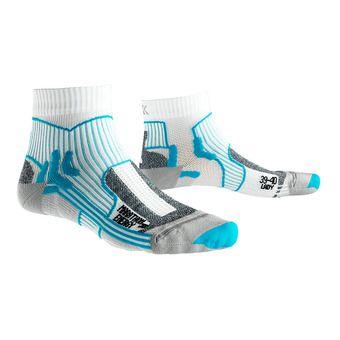 X-Socks MARATHON ENERGY - Socks - Women's - white/turquoise