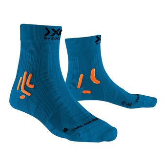 X-Socks TRAIL ENERGY - Chaussettes bleu/orange