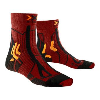 X-Socks TRAIL ENERGY - Chaussettes sunset orange/noir