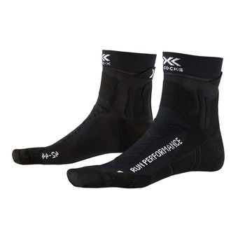 X-Socks RUN PERFORMANCE - Socks - black