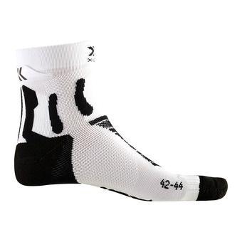 X-Socks RUN PERFORMANCE - Socks - black marle/white
