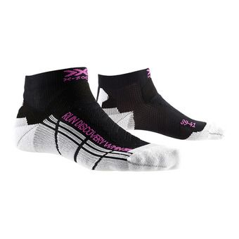 X-Socks RUN DISCOVERY - Socks - Women's - heather black//white