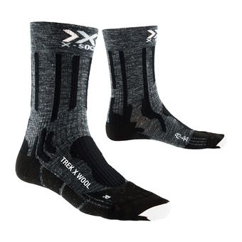X-Socks TREK X LINEN - Socks - anthracite/black