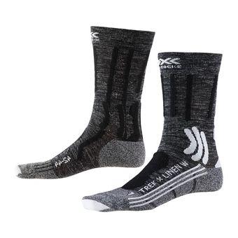 X-Socks TREK X LINEN - Calze Donna grigio/nero