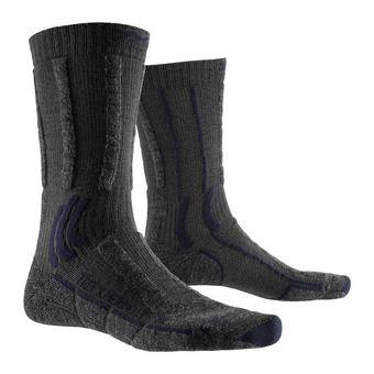 X-Socks TREK X MERINO LIGHT - Socks - anthracite