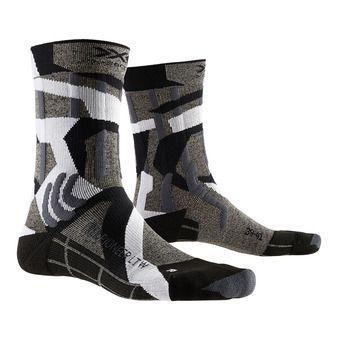 X-Socks TREK PIONEER LIGHT - Socks - grey/camo