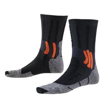 Calcetines de senderismo TREK DUAL grey/orange