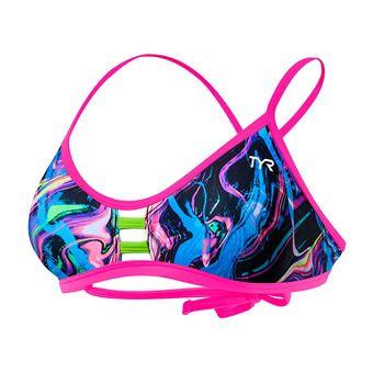 Tyr PENELLO PACIFIC - Top de bikini mujer multi