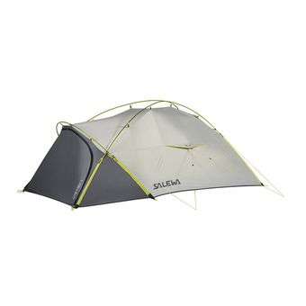 Salewa LITETREK II - Tent - 2 Man - light grey/cactus