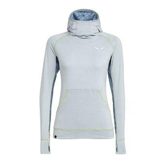 Salewa PUEZ - Sweatshirt - Women's - blue fog melange